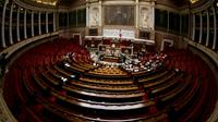 L'hémicycle de l'Assemblée nationale, le 7 octobre 2013 à Paris [Joël SAGET / AFP/Archives]