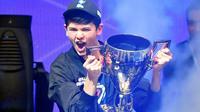 Le premier champion du monde de Fortnite en solo, l'Américain Bugha [Johannes EISELE / AFP]