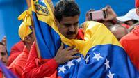 Le président vénézuélien Nicolas Maduro à Caracas, le 27 juillet 2017 [Federico PARRA / AFP/Archives]