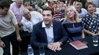 Alexis Tsipras le 29 août 2015 à Athènes [ANGELOS TZORTZINIS / AFP]