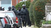 Opération de la police allemande à Alsdorf, le 17 novembre 2015 [RALF ROEGER / DPA/AFP]