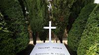 Tombe du maréchal Pétain à l'île d'Yeu (ouest), le 26 juillet 2013  [Jean-Sebastien Evrard / AFP/Archives]