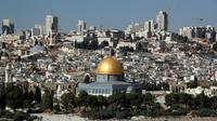 Vue de Jérusalem le 1er décembre 2017 [THOMAS COEX / AFP/Archives]