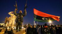 Des milliers de Libyens célèbrent le 6e anniversaire de la révolution, le 17 février 2017 à Benghazi [Abdullah DOMA / AFP]