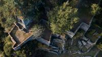 Vue aérienne du site Les Folies Siffait, le 19 octobre 2018 àau Cellier, en Loire-Atlantique [LOIC VENANCE / AFP]