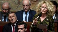 La députée La Republique en Marche Martine Wonner, le 14 novembre 2017 [STEPHANE DE SAKUTIN / AFP/Archives]