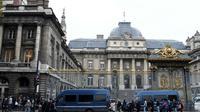 Le Palais de Justice à Paris, le 11 octobre 2017 [STEPHANE DE SAKUTIN / AFP/Archives]