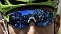 Le maillot vert Marcel Kittel avant le départ de la 16e étape du Tour de France au Puy-en-Velay, le 18 juillet 2017 [Jeff PACHOUD / AFP]
