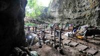 La grotte de Callao dans le nord de l'île de Luçon,  le 9 aout 2011 [Florent DETROIT / Florent DETROIT/AFP/Archives]