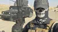 """Selfie transmis le 18 août 2016 par """"Mike"""", alias Peshmerganor, un ancien soldat norvégien qui combat avec les forces kurdes contre les jihadistes de l'EI au nord de Mossoul, en Irak [HO / AFP/Archives]"""