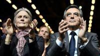 Penelope et François Fillon, le 27 novembre 2016 à Paris [PHILIPPE LOPEZ / AFP/Archives]