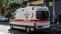 Une ambulance dans la province de Diyarbakir en Turquie le 3 novembre 2017 [ILYAS AKENGIN / AFP/Archives]