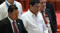 Le président philippin Rodrigo Duterte le 6 septembre 2016 à Vientiane [ROSLAN RAHMAN / AFP]