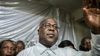 Félix Tshisekedi, le 10 janvier 2019 à Kinshasa [Caroline Thirion / AFP/Archives]