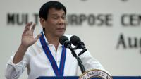Le président philippin Rodrigo Duterte à Manille, le 17 août 2016 [NOEL CELIS / AFP/Archives]