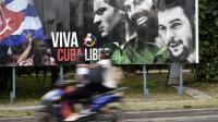 Dans une rue de La Havane, samedi 19 mars 2016 [YURI CORTEZ / AFP]