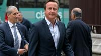L'ancien Premier ministre britannique David Cameron arrive au Parlement, le 5 septembre 2016 à Londres [JUSTIN TALLIS / AFP/Archives]