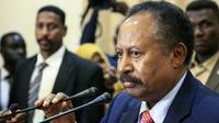 Le Premier ministre soudanais Abdallah Hamdok, le 21 août 2019 à Khartoum [Ebrahim HAMID / AFP/Archives]