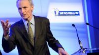 Le président du groupe Michelin, Jean-Dominique Senard, lors d'une conférence de presse, à Paris, le 16 février 2016 [BERTRAND GUAY / AFP]