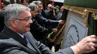 Michel Mercier lors d'une cérémonie à Marrakech au Maroc le 28 avril 2012 [ABDELHAK SENNA / AFP/Archives]