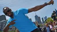 Usain Bolt pose à Melbourne, le 4 novembre  2016 [Paul CROCK / AFP]