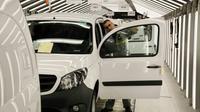 Assemblage de véhicules de marque Kangoo à l'usine Renault de Maubeuge, en novembre 2018 [Ludovic MARIN / AFP/Archives]