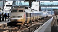 Un TGV à son entrée en gare [Philippe Huguen / AFP/Archives]