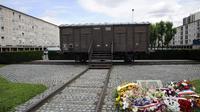 Le mémorial de la déportation à Drancy, le 16 juillet 2012 [Bertrand Guay / AFP/Archives]