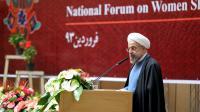 Le président Hassan Rohani à Téhéran le 20 avril 2014 [ / Présidence iranienne/AFP/Archives]