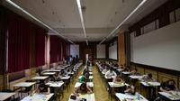 L'épreuve de philo du bac 2018 débute lundi, salle d'examen du lycée Fustel de Coulanges  de Strasbourg, le 15 juin 2017 [FREDERICK FLORIN / AFP/Archives]