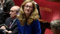 La ministre de la Justice Nicole Belloubet le 14 novembre 2017 à Paris [STEPHANE DE SAKUTIN / AFP]