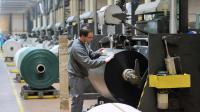 Une usine de sacs plastique en France [Philippe Huguen / AFP/Archives]