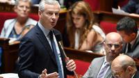 Le ministre de l'Economie français Bruno Le Maire pendant une séance de questions au gouvernement, à Paris, le 12 juin 2018 [Alain JOCARD / AFP/Archives]
