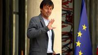 Nicolas Hulot sort de l'Elysée le 22 août 2018 [Bertrand GUAY / AFP/Archives]