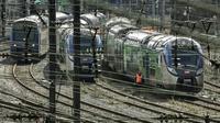 Des TER à Lille le 29 mars 2018 [Philippe Huguen / AFP/Archives]