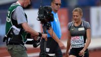 Yulia Stepanova, le 6 juillet 2016, à Amsterdam [JOHN THYS / AFP/Archives]