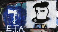 Graffiti représentant le logo du groupe séparatiste basque ETA à Oquendo, en Espagne le 23 mars 2010 [Rafa Rivas / AFP/Archives]
