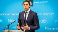 Le ministre néerlandais des Finances, Wopke Hoekstra, à La Haye le 26 février 2019 [Lex van Lieshout / ANP/AFP]
