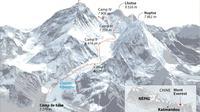Le Mont Everest [Adrian Leung / AFP]