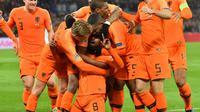 Les Pays-Bas vainqueurs de la France 2-0 à Rotterdam en Ligue des nations le 16 novembre 2018  [EMMANUEL DUNAND / AFP]