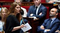 La secrétaire d'Etat à l'Egalité entre les femmes et les hommes, Marlène Schiappa, à l'Assemblée nationale, le 15 mai 2018 [CHRISTOPHE SIMON / AFP/Archives]