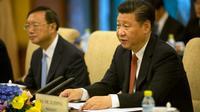 Le prédient chinois Xi Jinping le 7 juillet 2016 à Pékin [Mark Schiefelbein / POOL/AFP]