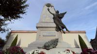 Un monument aux morts de la guerre de 1914-1918 à Cuxac-d'Aude, dans le sud de la France, le 27 octobre 2013 [Eric Cabanis / AFP/Archives]
