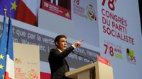Olivier Faure au congrès du parti socialiste à Aubervilliers, le 8 avril 2018 [Thomas Samson / AFP]