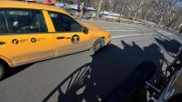 Un taxi longe Central Park à New York le 26 février 2014  [Stan Honda / AFP/Archives]