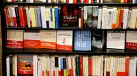 Une librairie le 25 novembre 2016 à Rouen [CHARLY TRIBALLEAU / AFP/Archives]