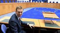 Alexeï Navalny, opposant numéro un à Vladimir Poutine, le 15 novembre à la Cour européenne des Droits de l'homme [Frederick FLORIN / AFP]