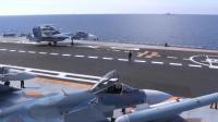 Image extraite d'une vidéo publiée sur le site officiel du ministère russe de la Défense le 15 novembre 2016 montrant le pont du porte-avions Amiral Kouznetsov en Méditarranée au large de la Syrie [HO / Russian Defence Ministry/AFP/Archives]