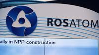 """Le conglomérat nucléaire russe Rosatom a assuré qu'""""aucun incident ni panne"""" n'a été enregistré sur ses installations  [ERIC PIERMONT / AFP/Archives]"""