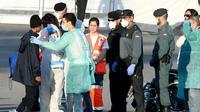 Un migrant arrive au port de Valence en Espagne le 17 juin 2018 [JOSE JORDAN / AFP]
